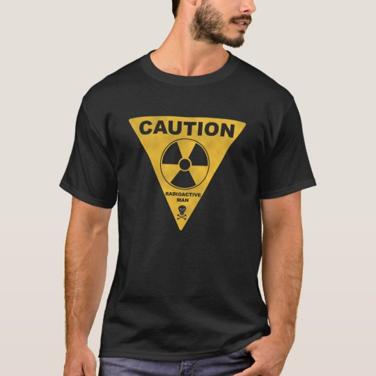 T-shirt radioactive man