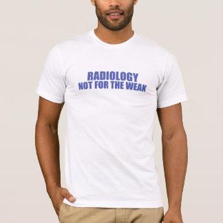 T-shirt Radiologie-Non pour le faible