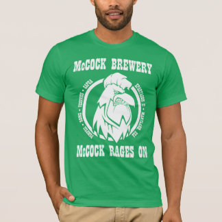 """T-shirt Rages de SpartaCon II """"McCock sur"""" la chemise"""