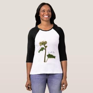 T-shirt Raglan à manches la belle fleur