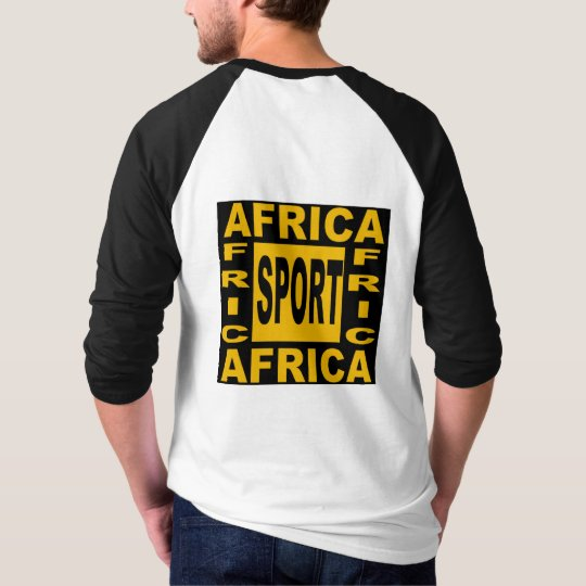 T-SHIRT RAGLAN  AFRICA  SPORT