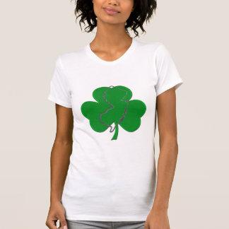 T-shirt Raglan de douille de casquette d'Irlandais du
