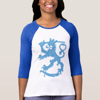 T-shirt Raglan de la douille des femmes de lion de Sisu