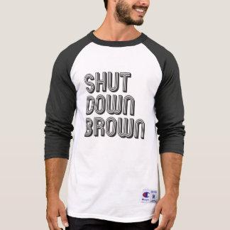 T-shirt Raglan de Mike Brown de signature