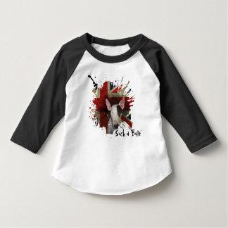 T-shirt raglan d'enfant en bas âge avec la