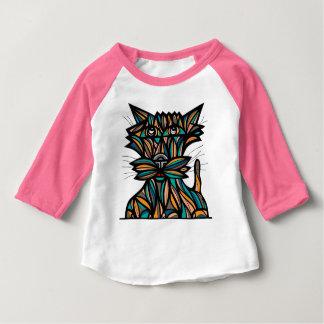 "T-shirt raglan du bébé 3/4 de ""élan"""
