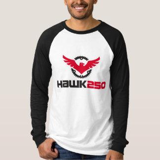 T-shirt raglan du faucon 250 de longue douille de