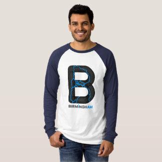 T-shirt Raglan Longsleeves de canaux de Birmingham