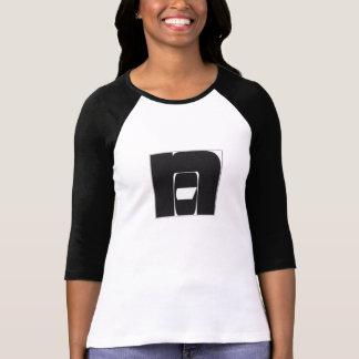 "T-shirt Raglan ""NO""/""Non"""