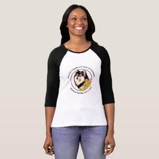 T-shirt Raglan T de femme de 2017 FLCC