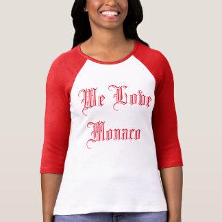 T-shirt Raglan We Love Monaco