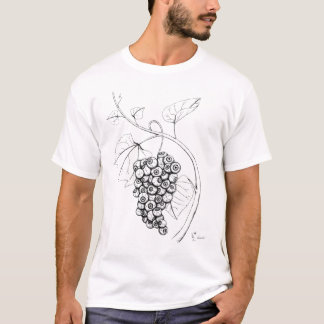 T-shirt Raisins de globe oculaire