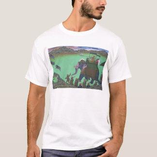 T-shirt Rajah Sarup Singh d'Udaipur, sur une chasse à