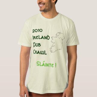 T-shirt Rampement de Pub de l'Irlande