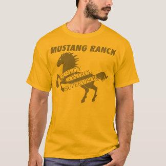 T-shirt Ranch de mustang - surveillant de contrôle de