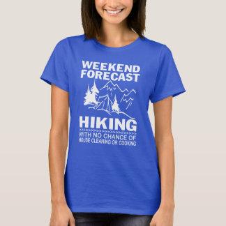 T-shirt Randonnée de prévision de week-end