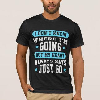 T-shirt Randonneur drôle