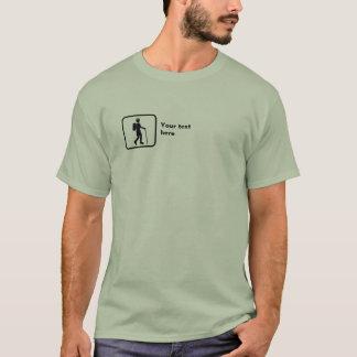 T-shirt Randonneur -- Petit logo -- Personnalisable