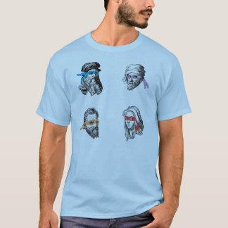T-shirt Raphael Michelagelo de Leonardo Donatello de Ninja