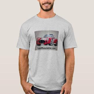 T-shirt rapide de voiture de muscle de cobra