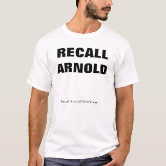 T-shirt Rappel Arnold