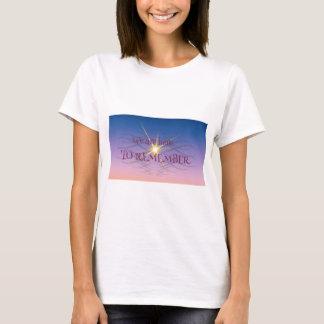 T-shirt Rappelez-vous
