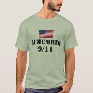 T-shirt Rappelez-vous 9/11