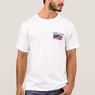 T-shirt Rappelez-vous en novembre l'avant et le dos