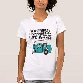 T-shirt rappelez-vous le bonheur