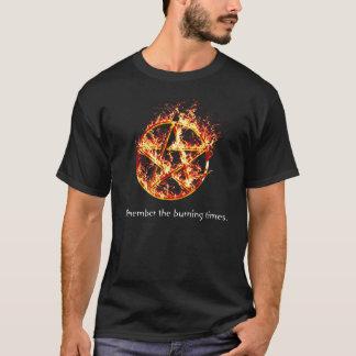 T-shirt Rappelez-vous les temps brûlants