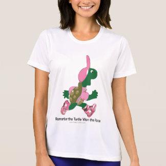 T-shirt Rappelez-vous que la tortue a gagné la course