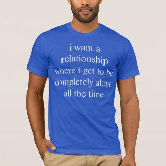 T-shirt rapport idéal