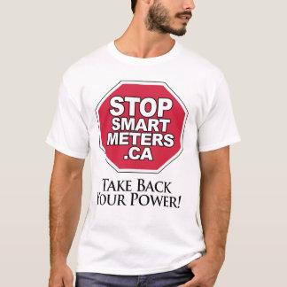 T-shirt Rapportez votre puissance - arrêtez les mètres