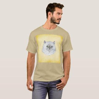 T-shirt rare d'aquarelle de sourire affecté de