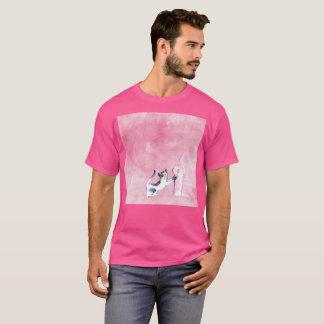 T-shirt rare de Gato de chat de bout droit