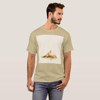 T-shirt rare enterré d'aquarelle souterraine de