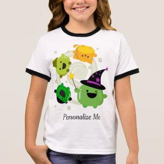 T-shirt Ras-de-cou Abracadabra personnalisable de sorcière de