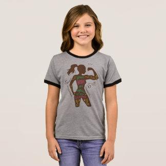 T-shirt Ras-de-cou Chemise de motivation simple de sonnerie de la