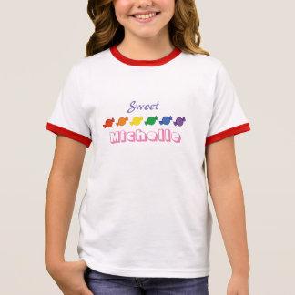 T-shirt Ras-de-cou Chemise nommée personnalisée