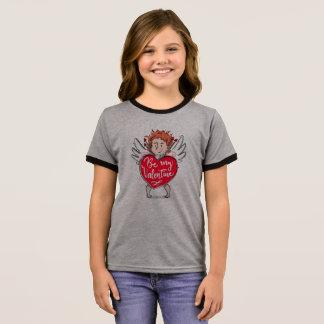 T-shirt Ras-de-cou Le beau cupidon soit ma chemise de sonnerie de