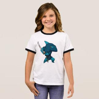 T-shirt Ras-de-cou Ninja de requin