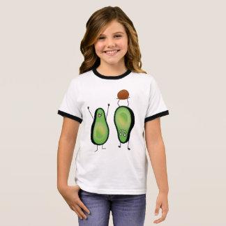 T-shirt Ras-de-cou Puits vert encourageant drôle d'appui renversé