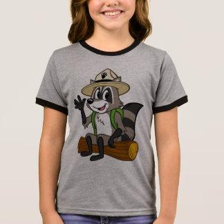 T-shirt Ras-de-cou Séance de Rick de garde forestière de Rick | de