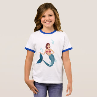 T-shirt Ras-de-cou Sirène