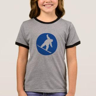 T-shirt Ras-de-cou Surfeur