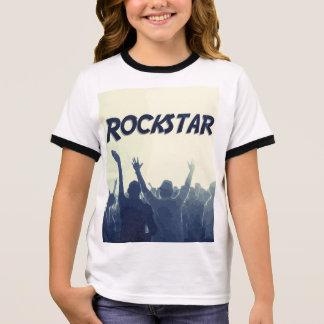 T-shirt Ras-de-cou Vous êtes un Rockstar !