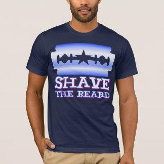 T-shirt Rasez la barbe - Texas Rangers
