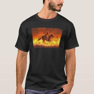 T-shirt Rassemblement poussiéreux de matin
