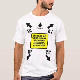 T-shirt Rassemblez comme chemise drôle vide indiquée