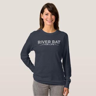 T-shirt Rat de rivière pendant la vie